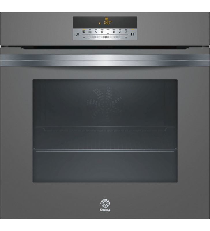 Horno independiente 60cm Balay 3hb5888a0 cristal negro pir 3HB5888N0 - 3HB5888A0