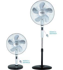 Orbegozo SF0245 ventilador pie , 3 veloc., 60w, 40 orb - SF0245
