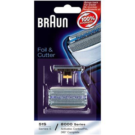 Lamina+cuchilla COMBIPACK51S Braun apta afeitadora - COMBIPACK51S
