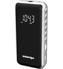 Radio fm digital sd/mp3 Brigmton bt-124 b blanco BRIBT124B - 8425081015514