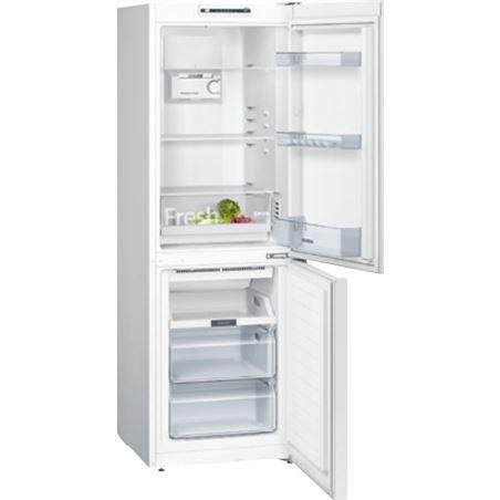 Combi nofrost Siemens KG33NNW3A blanco 176cm a++