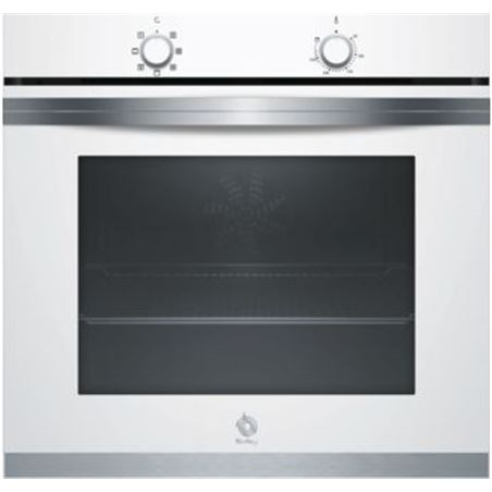 Horno independiente 60cm Balay 3HB4000B0 blanco 71l a