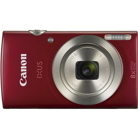 Camara fotos Canon ixus 185 red 20mp 8x 28mm 1809C010AA