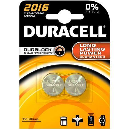 Pilas Duracell dl 2016 b2 para basculas etc DL2016B2