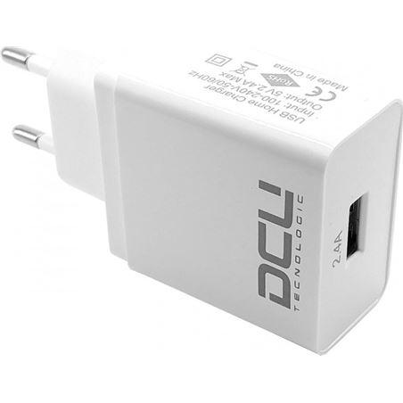 Todoelectro.es alimentador 1 x usb 5v 2.4a 37300525 dcu