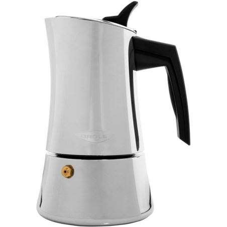Cafetera Oroley215100300 inox 4 tazas