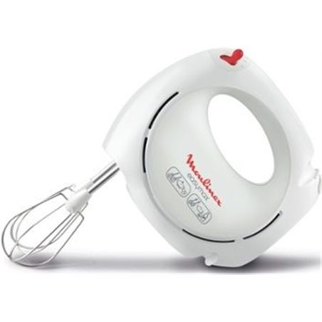 Batidora amasadora Moulinex hm2501b1 easy max 5 velocidades MOUHM2501B1