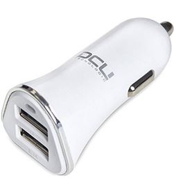 Todoelectro.es cargador coche 2xusb 3.1a blanco dcu 3610030 36100305 - 36100305