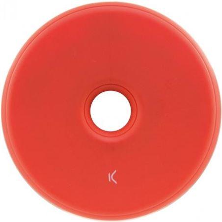 Todoelectro.es cargador inalambrico mini 5w rojo conbxcqi06