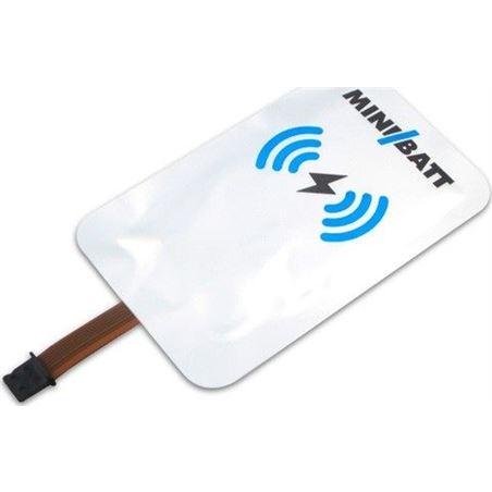 Adaptador carga inalámbrica Minibatt mb-card-lightning 8435048431660