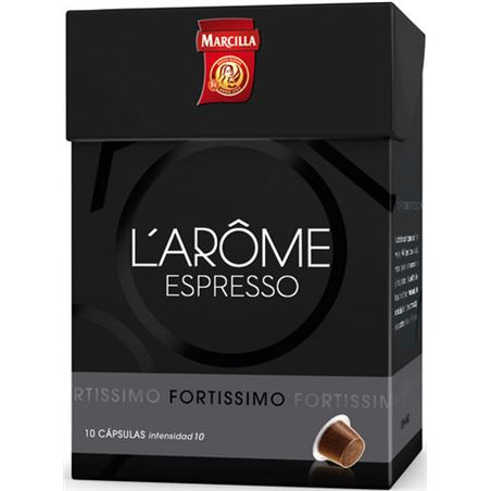Cafe fortissimo l' arome Marcilla 4028361