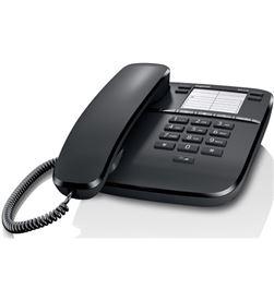 Siemens telefono de sobremesa gigaset da310, negro, tecla - DA310