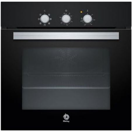 Horno independiente 60cm Balay 3HB2010N0 negro 66l a multi