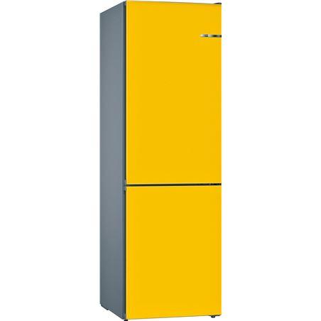 Combi nofrost Bosch KVN39IF3B amarillo 203cm a++