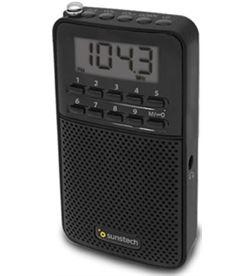 Sunstech RPDS81BK radio portatil digital negro Radio Radio/CD - RPDS81BK