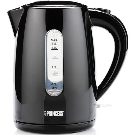 Hervidor Princess PS236017 1,7l 2200w negro
