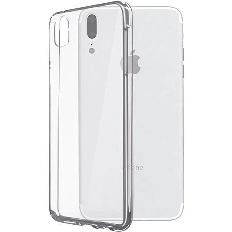 Funda flex Ksix tpu iphone x transparente B0938FTP00
