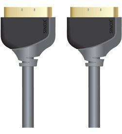 Sinox cable euroconector scart (m) - scart (m) high quality 2 metros sinosxv7102 - SINOSXV7102