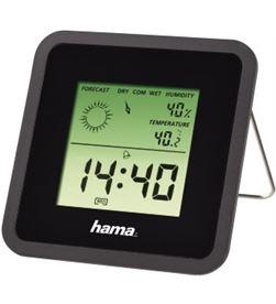 Todoelectro.es estacion meteorologica hama 113987 th-50, negra - 113987