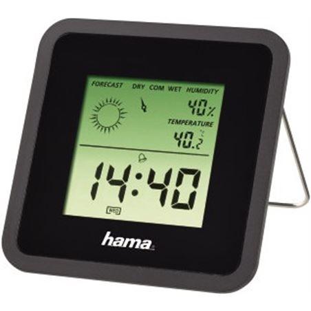 Todoelectro.es estacion meteorologica hama 113987 th-50, negra