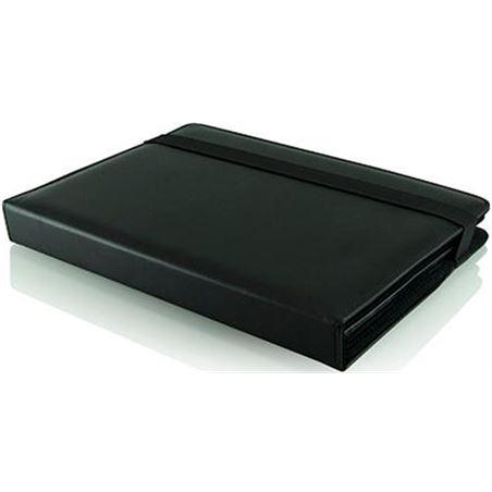 3go funda piel ipad + teclado negro pielipadteclado