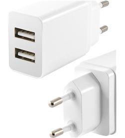 Todoelectro.es CONBXCDU2U cargador pared 2 puertos usb 2.4 a blanco - CONBXCDU2U