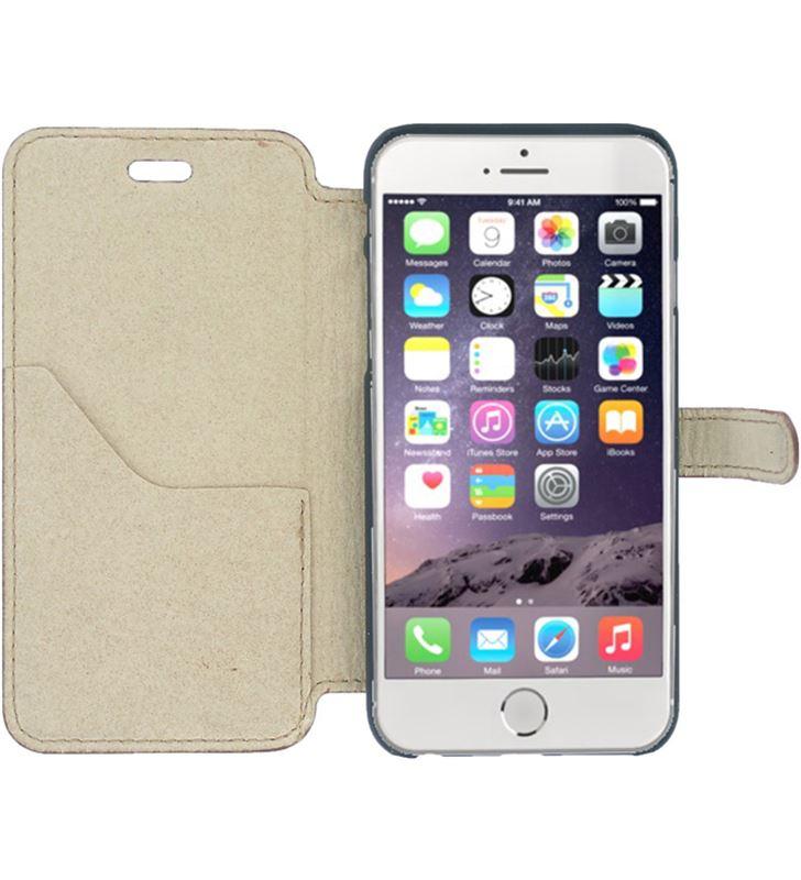 Funda piel Akashi iphone 6 / 6s beige ALTFOLIOCI6BRW - 25397441_9000