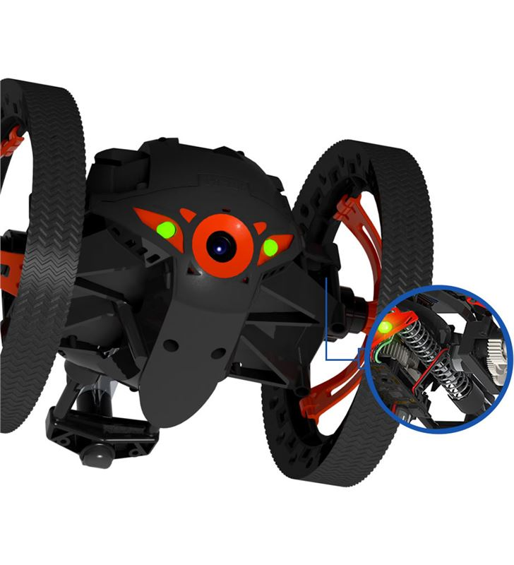 Dron Parrot jumping sumo negro PF724001AA Outdoor - 23116694_3515