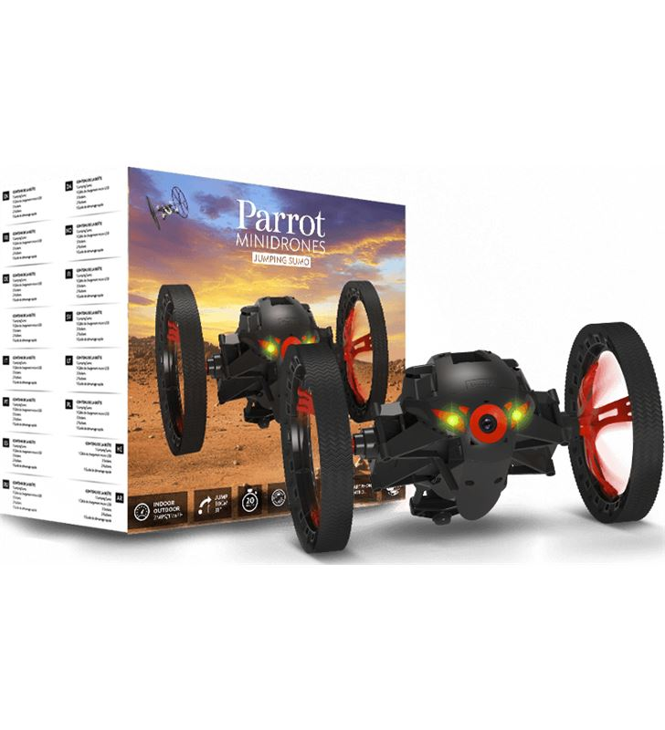 Dron Parrot jumping sumo negro PF724001AA Outdoor - 23116694_6867
