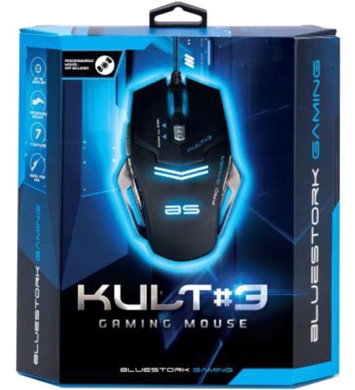 Raton gaming Bluestork bgm-kult3 iluminado BS-GM-KULT3 - 27320494_8810