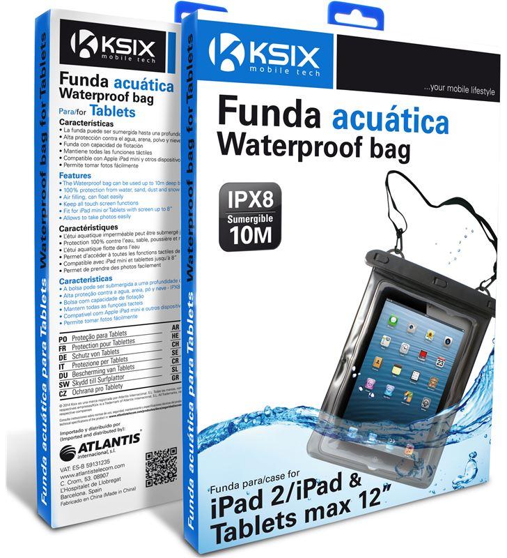 Ksix BXFUT12W01 funda universal waterproof para tablet 12'' - 23147748_9400