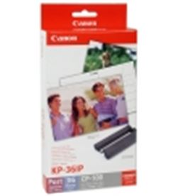 0001060 cartucho tinta+papel canon kp-36ip (selphy 710) can7737a001ah - 242F072