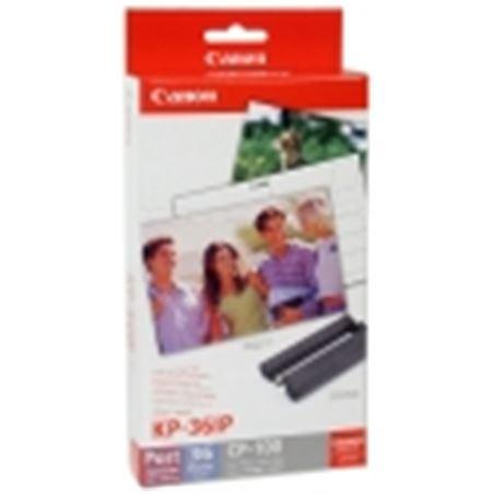 0001060 cartucho tinta+papel canon kp-36ip (selphy 710) can7737a001ah