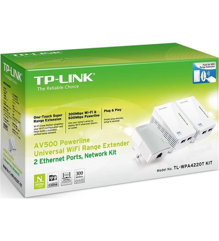 Powerline Tp-link wpa4220tkit 300 mbps - banda is TL-WPA4220TKIT - 20410572_4872