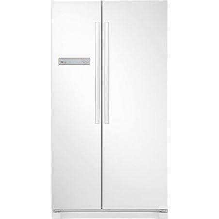 Frigorifico side by side Samsung RS54N3003WWES a+,