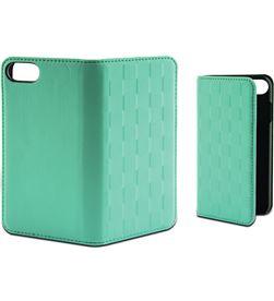 Ksix B0936FU85T funda folio soft para iphone 7 plus verde tur - B0936FU85T