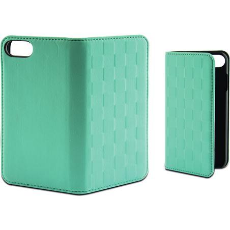 Funda folio soft Ksix para iphone 7 plus verde tur B0936FU85T