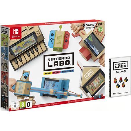 Switch Nintendo labo kit variado (toy-con 01) NIN2522066