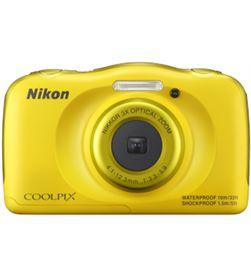 Nikon cámara de fotos sumergible coolpix w100 13mp 4x amarillo nikw100y - W100