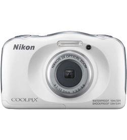 Cámara de fotos Nikon coolpix w100 sumergible white 13mp 4x NIKW100WH - W100WH