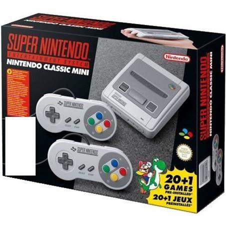 Consola super Nintendo classic mini snes + 2 mandos NIN2400166