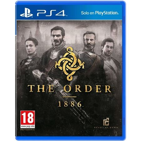 Sony juego ps4 the order: 1886 sps9284697