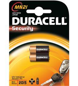 Pilas Duracell mn21, lrv08, alcalina, 12v, mando a MN21BLISTER2U - MN21BLISTER2U