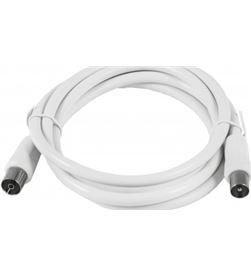 Silver cable antena tv m/h basic 1.5 blanco 93024 Accesorios - 93024