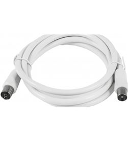 Silver cable antena tv m/h basic 1.5 blanco 93024 - 93024