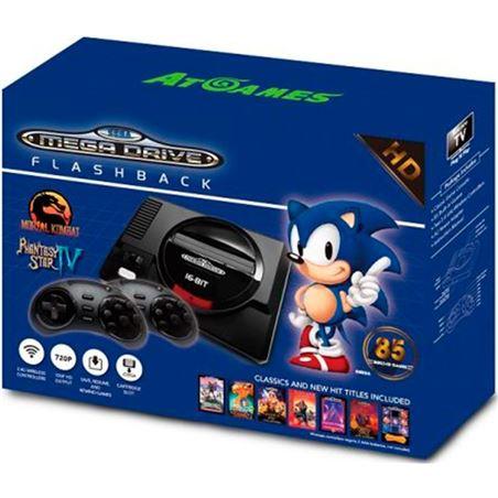 Consola Sega mega drive flashback hd ( 85 juegos ) 7003837