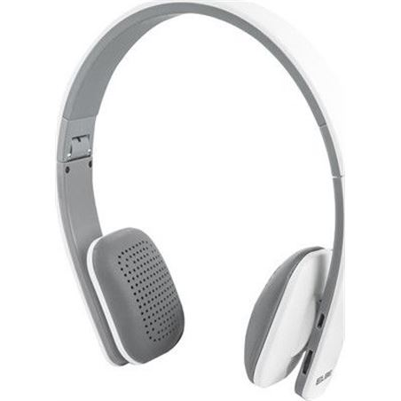 Auricular Elbe bluetooth blanco plegable ABT005BL