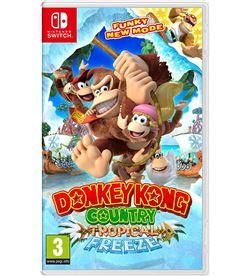 Juego Nintendo switch donkey kong country: tropical freeze NIN2522981 - 045496421755