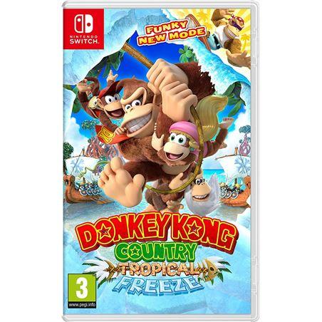 Juego Nintendo switch donkey kong country: tropical freeze NIN2522981