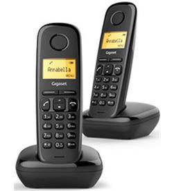 Siemens telefono inalambrico duo gigaset a170 negro a170duo - 4250366850788
